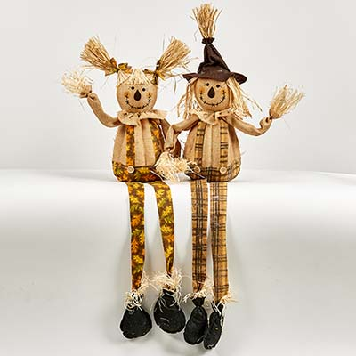"""36"""" Sitting Scarecrow, 2 Assorted"""