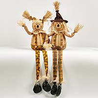 "36"" Sitting Scarecrow, 2 Assorted"