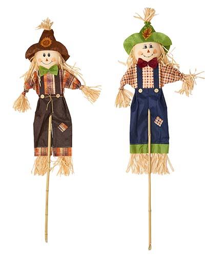 "48"" Scarecrow On Stick, 2 Asst"