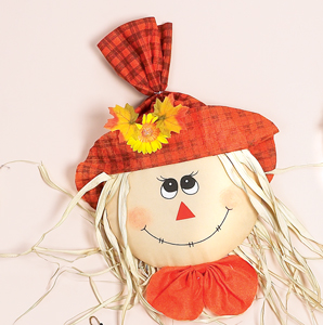 """25"""" Hanging Scarecrow Face"""