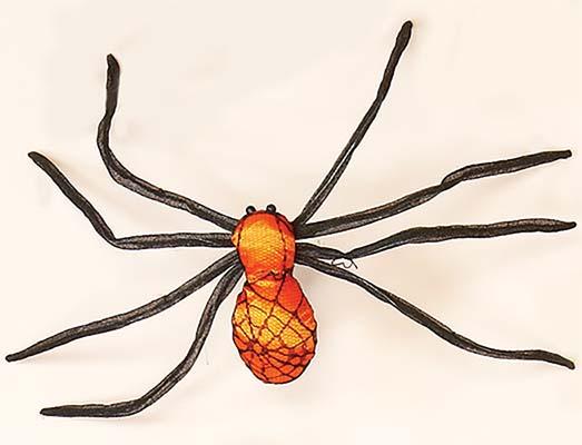 Colored Spider Black/Orange