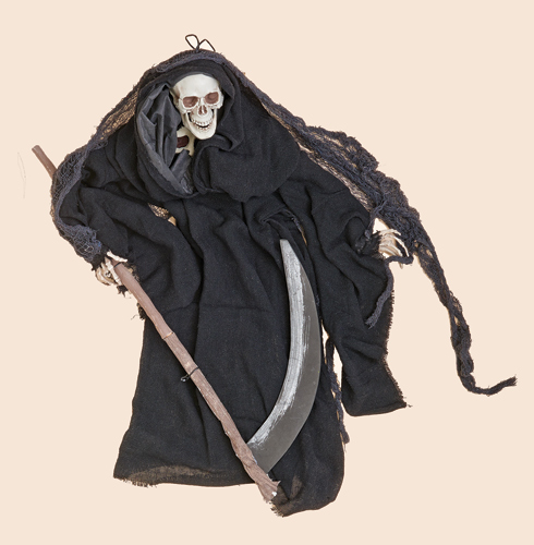 "36"" Hanging Reaper with Scythe"