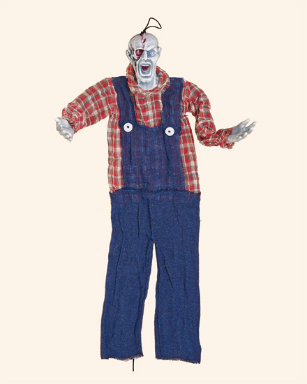 "34"" Hanging Halloween Farmer"
