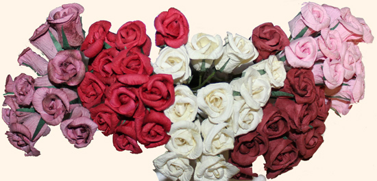 Mini Rose Bunch x 12 - CLOSE OUT
