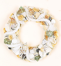 "3"" Shell Candle Ring"