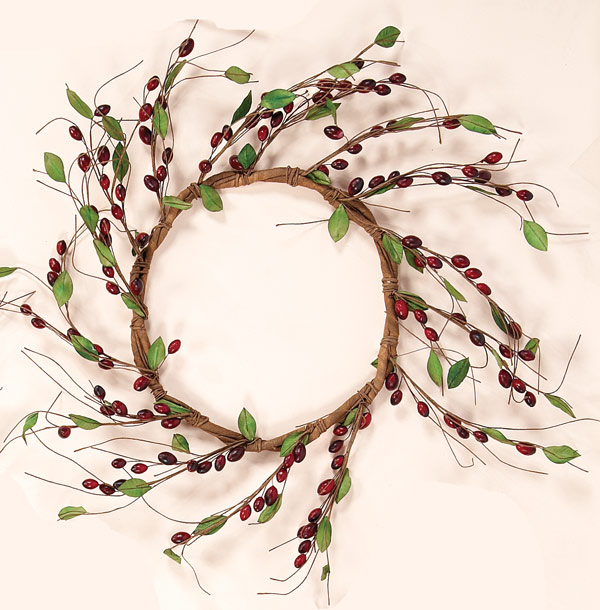 "15"" Berry Wreath"