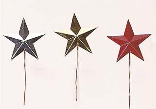 "4"" Metal Star Pick"