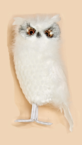 """14"""" Standing Snowy Owl-CLOSEOUT"""