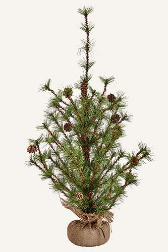 """24"""" BRISTLE BURLAP TREE - CLOSEOUT"""