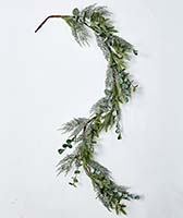 5' MIXED PINE & EUCALYPTUS GARLAND