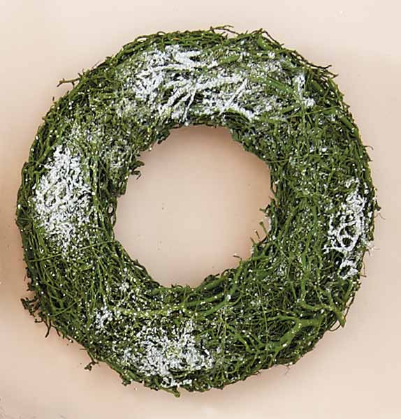 "10"" Rattan Wreath -CLOSE OUT"