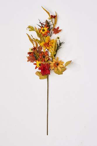 "30"" Fall Floral Spray"