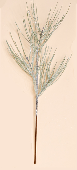 "23"" Icy Long Needle Pine Spray"