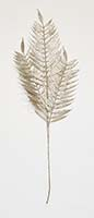 "32"" Gold Glitter Fern Spray X 3"