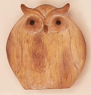 "6.5"" Polyresin Owl - CLOSEOUT"