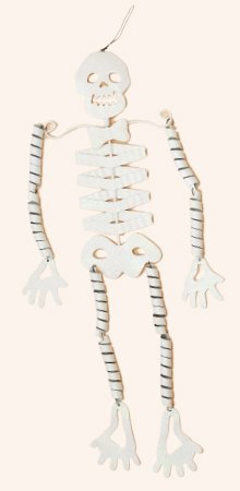 "31"" Metal Hanging Skeleton - CLOSEOUT"