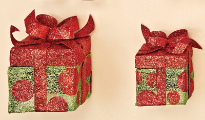 "6"" & 4.5"" Sisal Gift Box"
