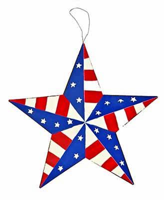 "12"" Tin Americana Star"