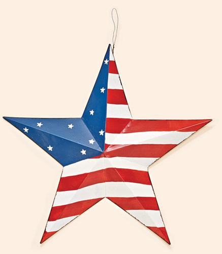 "16"" Tin Americana Star"