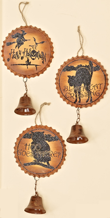 """11"""" Hanging Bottlecap with 2"""" Bell"""