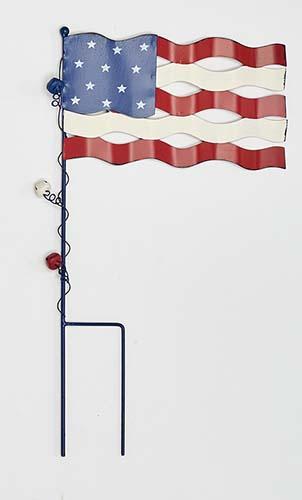"""20"""" AMERICANA FLAG STAKE"""