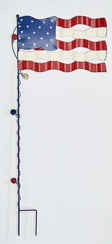 """36"""" AMERICANA FLAG STAKE"""