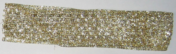 Gold Mesh With Wire, # 9