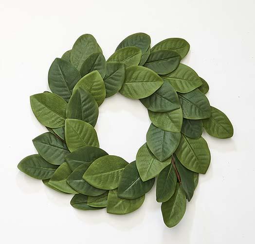 """20"""" Magnolia Wreath"""